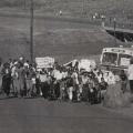Striking Sarmcol workers invade Pietermaritzburg (photo - courtesy Ari Sitas)