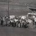 Striking Sarmcol workers invade Pietermaritzburg (photo - courtesy Ari Sitas)