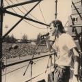 Steve Kromberg , Mandela welcome rally, Kings Park Stadium ,Durban, 1990 (photo - Myron Peters)
