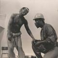 'Qonda' play, Dunlop workers, Clarewood, 1986 (photo: Rafs Mayet)