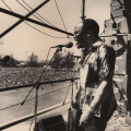 Mandela welcome rally, Kings Park Stadium ,Durban ,1990 (photo - Myron Peters)