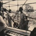 Mandela welcome rally, Kings Park Stadium, Durban, 1990 (photo - Myron Peters)