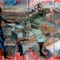 Shaba naMajita Will Dazzle Oorhata, 2011. Oil on canvas