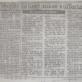 <em>Works reflect mass suffering</em>, 1998. Review by Kim Bentley