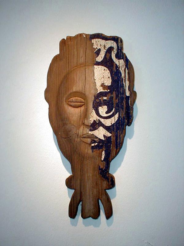 Mask no 2, 2002.