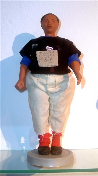 <em>Displaced Barbie, </em>From Barbie Bartmann Homecoming Queen  series, 2003-5.