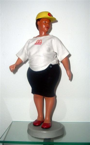 <em>Gay Barbie, </em>From <em>Barbie Bartmann Homecoming Queen</em> series, 2003-5.