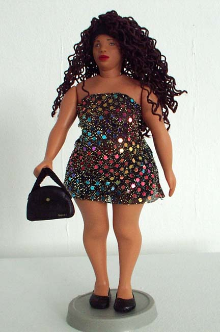 <em>Minimum Wage Barbie, </em>From <em>Barbie Bartmann Homecoming Queen</em> series, 2003-5.