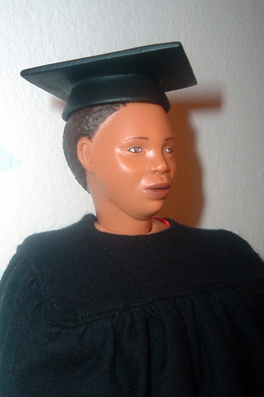 <em>Single Mother Barbie, </em>From <em>Barbie Bartmann Homecoming Queen</em> series, 2003-5.