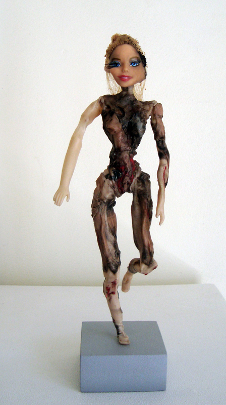 <em>Cluster Bombed Barbie</em>, from<em> Brutalised Barbie series. </em>