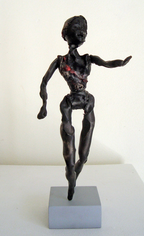 <em>Rwanda Barbie,</em>, from<em> Brutalised Barbie series. </em>