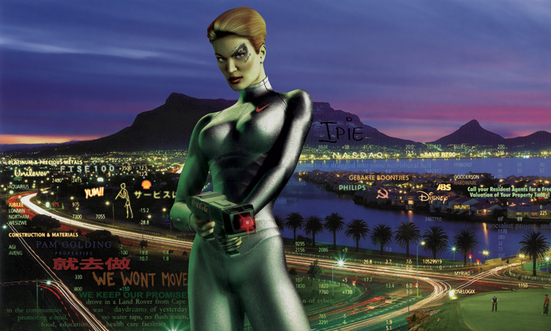 <em>Guardian of the Neo-Colony 1,</em> 2008.