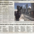<em>Cape Argus</em>, 21 March 2005.