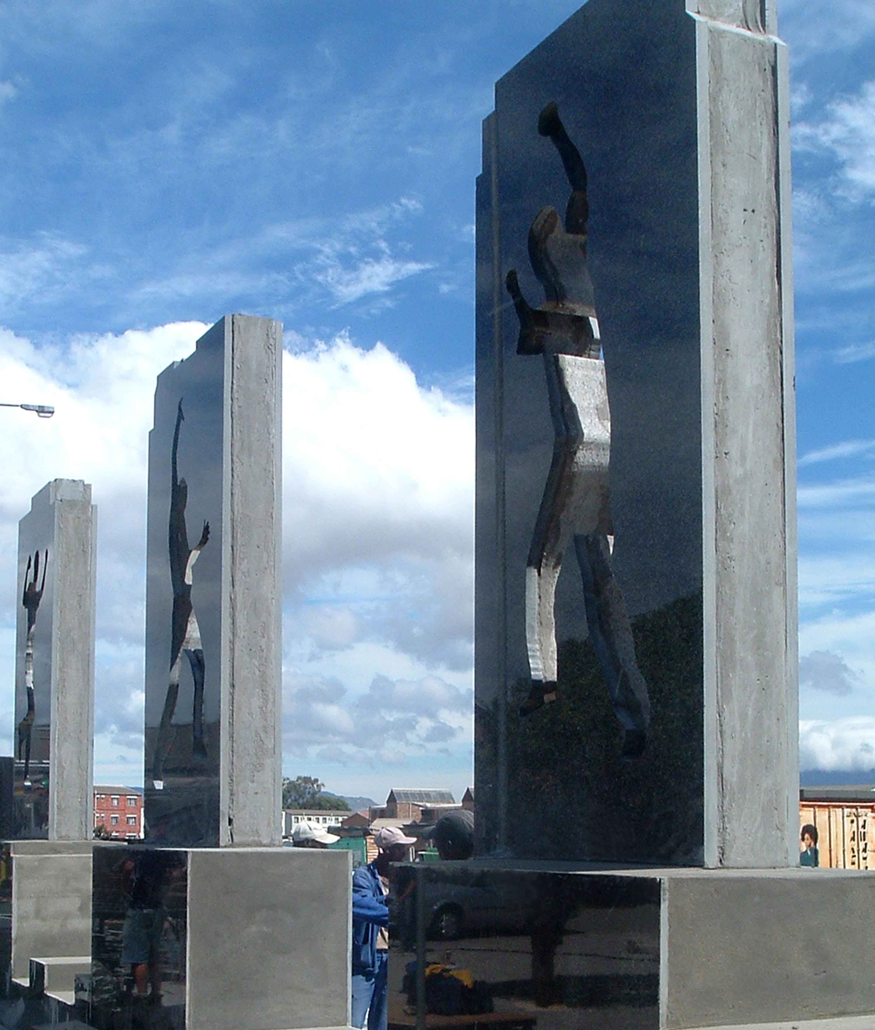 Guguletu 7 Memorial, 2005.
