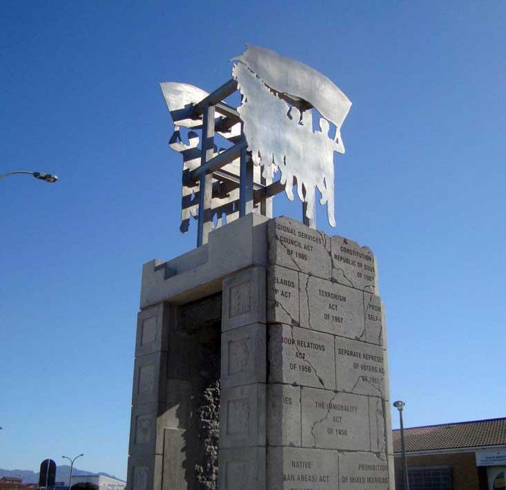 UDF Memorial (detail), 2011.