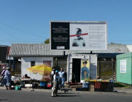 Fragile Cargo Billboard, 2005.