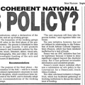 Towards a coherent National Arts Policy?, New Nation, 4 - 10 September 1992
