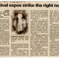 Cape Times, 2008.