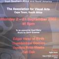 Exhibition poster - Eagles Speak 2002