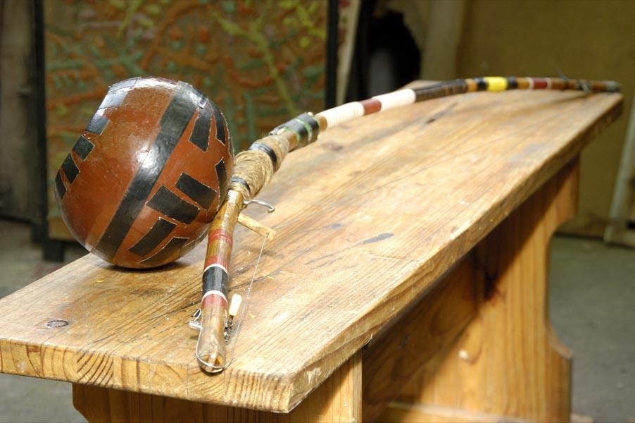 Gourd Bow, detail, 2005