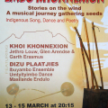 Poster for Embo Khonnexion, Artscape Theatre, Cape Town, 2008