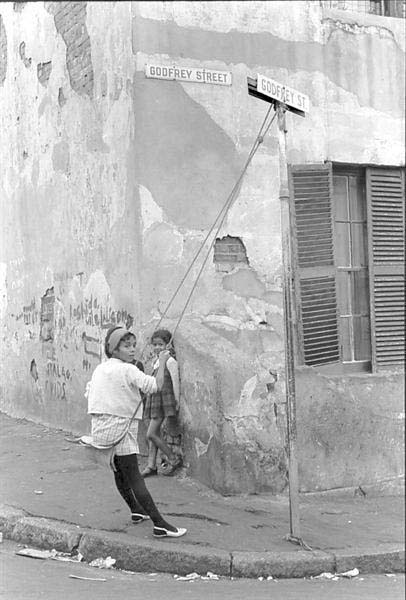 Godfrey Street, District Six, 1968. Photograph, dimensions variable. (Photo: G Hallett)