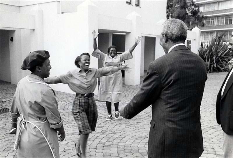 Mandela. First Encounter. Johannesburg