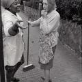 Neighbours. Handsworth, Birmingham, 1972. Photograph, dimensions variable. (Photo: G Hallett)