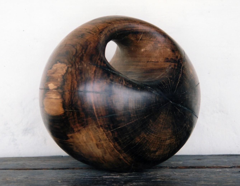 Ex nihilo, 2005. Wood