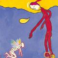 <em>Untitled</em>. 1999. Acrylic on board. 50x40cm