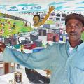 Isaac Nkululeko Makeleni - 1999 (Photo: courtesy Artthrob)