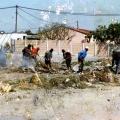 Isaac Nkululeko Makeleni  - Cleaning the neighbourhood, early 1990s (Photo: courtesy M. Makeleni)