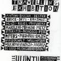 Isaac Nkululeko Makeleni  - Visual Arts Group exhibition poste, designed by Mario Pissarra at Zolani Centre workshop, 1992r