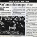 Isaac Nkululeko Makeleni  - Visual Arts Group exhibition review in South, with reference to Makeleni