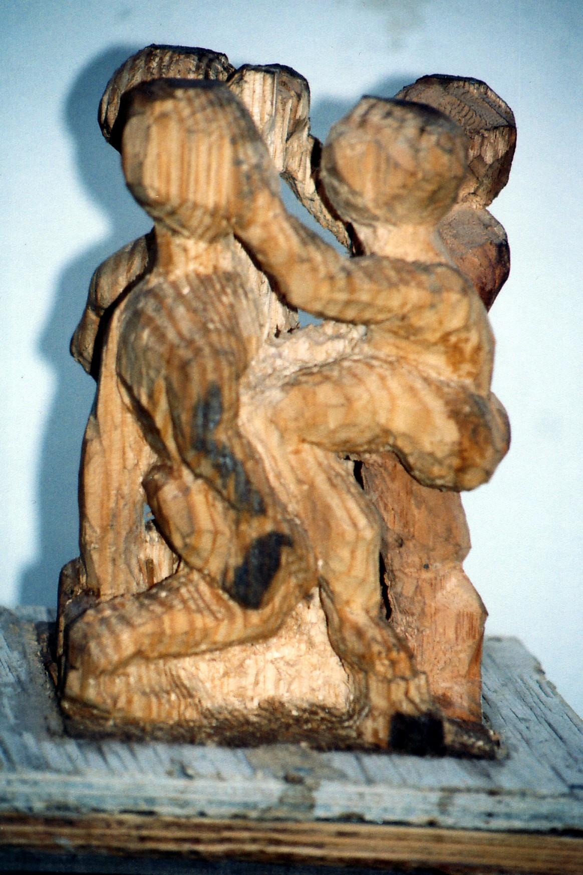 Isaac Nkululeko Makeleni - Boxers (unfinished). (Collection: M. Pissarra. Photo: MP)
