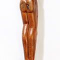 Isaac Nkululeko Makeleni - Figure. wood, probably 1980s (Collection: private. Photo: C. Beyer