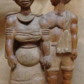Isaac Nkululeko Makeleni - Together Forever (III). Wood (Collection: private. Photo: Cape Gallery)