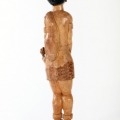Isaac Nkululeko Makeleni - Inyanga. Wood, 96 x 22 x 15 cm, late 1980s (Collection: private, Cape Town. Photo: C. Beyer