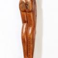Isaac Nkululeko Makeleni  - Figure. wood, probably 1980s (Collection: private. Photo: C. Beyer