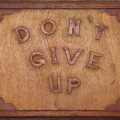 Isaac Nkululeko Makeleni - Don?t Give Up. Wood (Collection: M. Makeleni. Photo: MP)