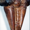 Isaac Nkululeko Makeleni - 2010. Wood, 58 cm (h), 2006 (Collection: M. Makeleni. Photo: MP)