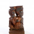Isaac Nkululeko Makeleni  - Title not known. Wood, probably late 1980s. Collection: S. Baer. Photo: C. Beyer