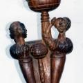 Isaac Nkululeko Makeleni - 2010. Wood, 58 cm (h), 2006 (Collection: M. Makeleni. Photo: MP)