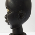 Isaac Nkululeko Makeleni - Doll?s Head. Wood and paint, 12 x 7 x 6 cm, 1990s. Collection: R. Slingsby, Cape Town (photo: J. Slingsby)