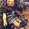 Isaac Nkululeko Makeleni - Doll. Possibly c. 1993 at V & A Waterfront (Photo: Courtesy M. Makeleni)