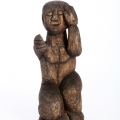 Kneeling Figure, c. late 1980s