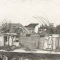 <em> Shabalala House, Clermont</em>, 2010. Graphite on paper, 46.5 x 70 cm (Image courtesy of DAG)