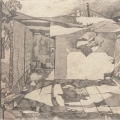 <em>After the Fire</em>, 2011. Pencil on paper, 53.5 x 41.5 cm(Image courtesy of DAG)