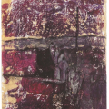 <em>Procession</em>, 2009. Monoprint on paper, 46 x 29 cm (Image courtesy of DAG)