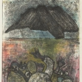 <em>The Coming if the Spirit</em>, 2009. Monoprint on paper, 50.5 x 35 cm (Image courtesy of DAG)